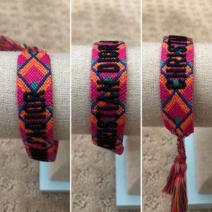 🚫SOLD🚫Christian Dior J'adior woven braceletx1